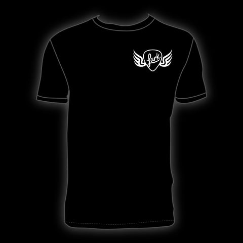 Lark Guitars Classic T-Shirt - Black - Medium - Available at Lark Guitars