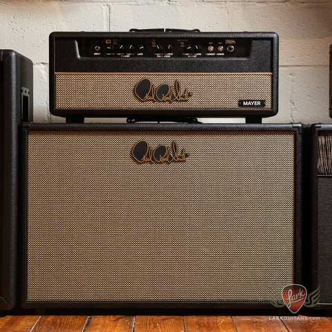 PRS J-MOD 100 John Mayer Signature Head and JM 2x12 Cab - Stealth w/Salt & Pepper Grill (230)