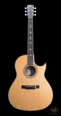 Pre-Owned Larrivee C-10 Acoustic Electric - Natural (334a)