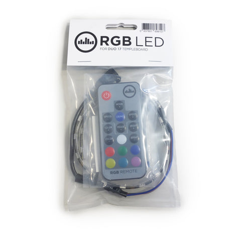 Temple RGB LED Light Strip - DUO 34 - RGB-34 - Available at Lark Guitars