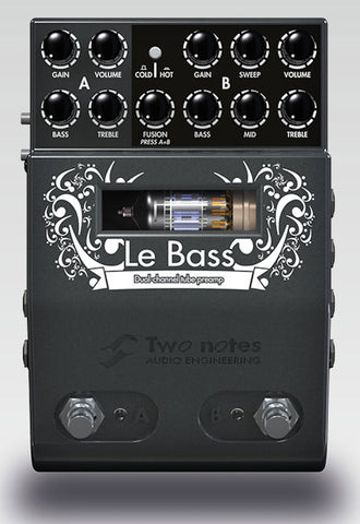 Two Notes Le Bass - 2 Channel Tube Preamp