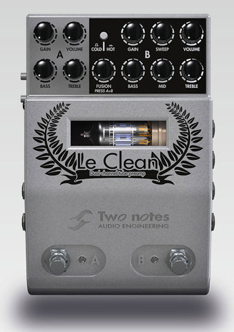 Two Notes Le Clean - 2 Channel Tube Preamp