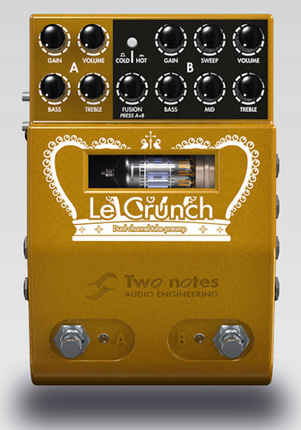 Two Notes Le Crunch - 2 Channel Tube Preamp