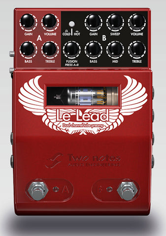 Two Notes Le Lead - 2 Channel Tube Preamp - Available at Lark Guitars