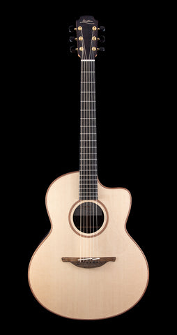 Lowden F-32C Sitka Spruce, Rosewood with Cutaway - Natural (373)
