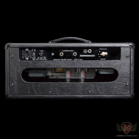 Matchless Independence 35 Head - Black (343) - Available at Lark Guitars