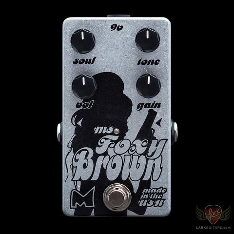 Menatone Ms. Foxy Brown Overdrive/Distortion (024), Menatone - Lark Guitars