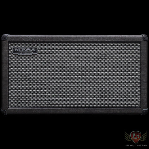 Mesa Boogie 2x12 Recto Compact Cabinet - Grey Taurus w/Black Jute Grill (487) - Available at Lark Guitars