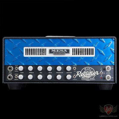 Mesa Boogie Mini Rectifier Twenty-Five Head - Blue (546) - Available at Lark Guitars