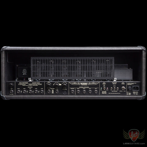 Mesa Boogie Dual Rectifier Head - Grey Taurus w/Black Diamond Face Plate (030), Mesa/Boogie - Lark Guitars