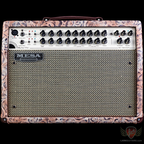 Mesa Boogie Rosette 300 2X8 Acoustic Combo Rose Floral Cream/Black Grille Brown Pipe