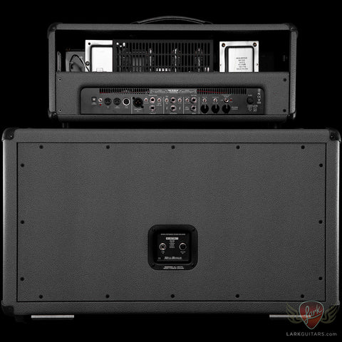 MESA BOOGIE TRIPLE CROWN TC-100 HEAD and 2x12 RECTO HORIZONTAL in BRITISH SLATE BRONCO