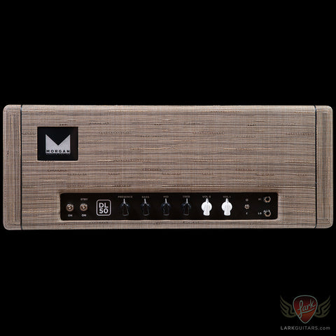 Morgan Amplification Custom Shop DL50 Head - Driftwood (15XA)