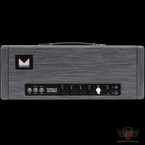 Morgan Amplification Custom Shop 30/800 Head - Twilight (24A), Morgan Amplification - Lark Guitars