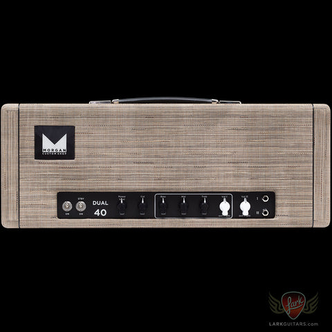 Morgan Amplification Custom Shop Dual 40 Head - Driftwood (24B)