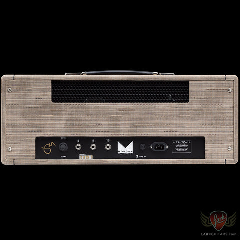 Morgan Amplification Custom Shop Dual 40 Head - Driftwood (24B), Morgan Amplification - Lark Guitars