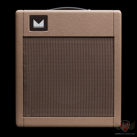 Pre-Owned Morgan Amplification TR19 Curieux 1x12 Combo - Rough Brown (001) - Available at Lark Guitars