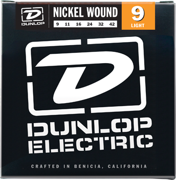 Dunlop DEN0942 Nickel Plated Steel Light Electric Strings 09-42 - Available at Lark Guitars