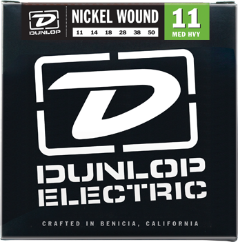 Dunlop DEN1150 Nickel Plated Steel Medium Heavy Electric Strings 11-50 - Available at Lark Guitars