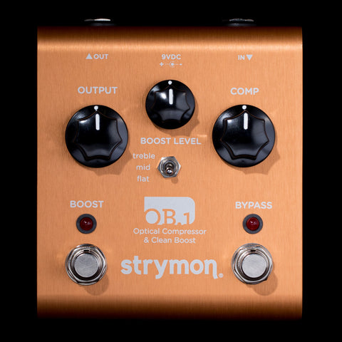 Strymon OB.1 Optical Compressor & Clean Boost w/ Bass Guitar Modification
