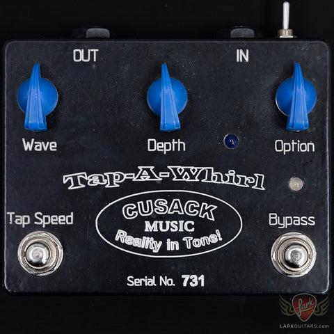 Pre-Owned Cusack Tap-A-Whirl Tremolo V2 (731A) - Available at Lark Guitars