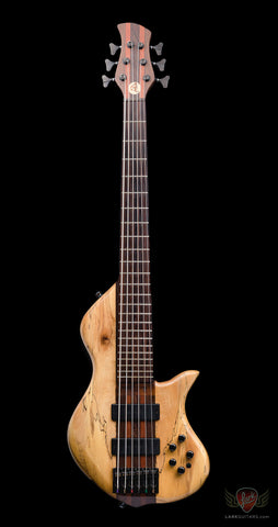 "zSOLD - Pre-Owned FBB #1065-02 ""Jason's Bass"" CS ESC 6-String Bass - Natural (502)"