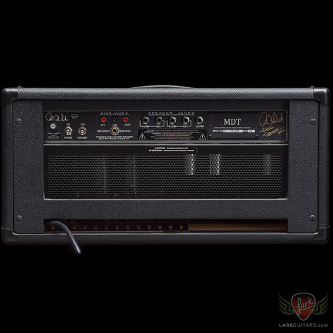 PRS Paul's MDT Custom 50-watt Head & 2x12 Closed Back Cabinet - Black & Salt & Pepper Grill w/Charcoal Burst Flame Maple Facia (514)