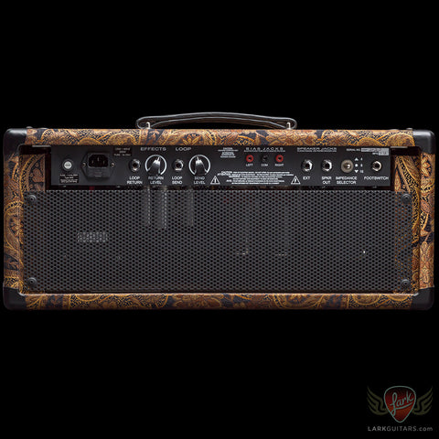 PRS 2-Channel H 50-watt Head - Paisley w/Black Gold Maple Fascia (262)