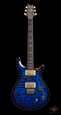 PRS Collection Series IX #162 McCarty Trem Quilt - Aqua Violet Smoked Burst (045) - Available at Lark Guitars