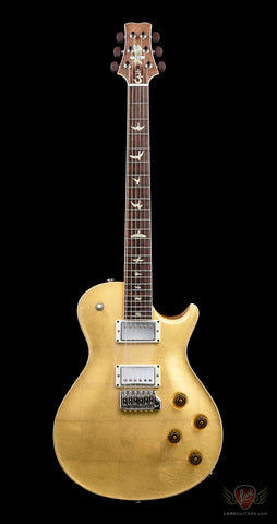 PRS Private Stock #6448 September 2016 Guitar of the Month McCarty Singlecut Trem 24 - Gold Leaf Finish (996)