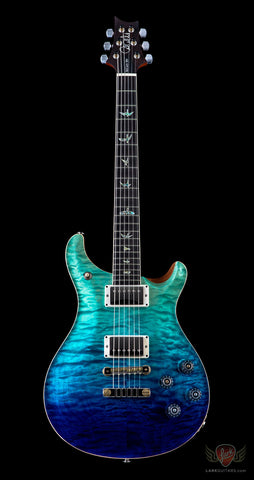 PRS Wood Library McCarty 594 LTD Run Quilt 10 Top - Blue Fade (157)
