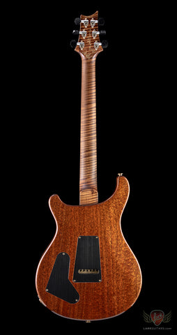 PRS Private Stock Custom 22, Roasted Maple Neck, Curly Spalted Top - Sandstorm Fade / Natural