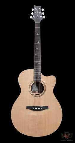 PRS SE Alex Lifeson Thinline Angelus Cutaway - Natural (253) - Available at Lark Guitars