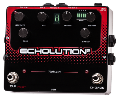 Pigtronix Echolution 2 - Available at Lark Guitars