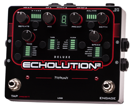 Pigtronix Echolution 2 Deluxe, Pigtronix - Lark Guitars