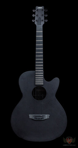 RainSong Smokey Series SMH Carbon/Glass Hybrid Full Body Cutaway w/Stagepro Element - Satin (102), RainSong - Lark Guitars