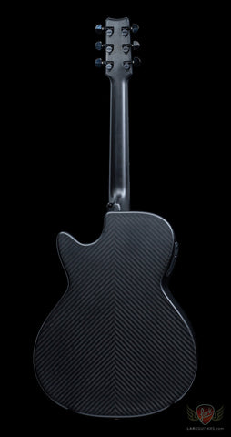 RainSong Smokey Series SMH Carbon/Glass Hybrid Full Body Cutaway w/Stagepro Element - Satin (102) - Available at Lark Guitars