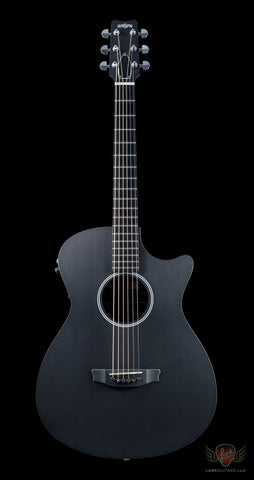 RainSong Shorty Series SS Shorty Satin 12-Fret Acoustic Electric Cutaway - Satin (018) - Available at Lark Guitars