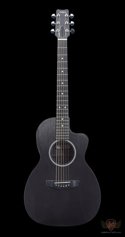 RainSong Parlor Series P14 Parlor 14-Fret Cutaway Acoustic Electric (317) - Available at Lark Guitars