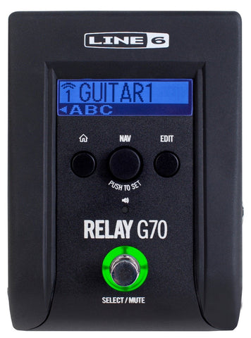 Line 6 Relay G70 Digital Wireless Guitar System - Available at Lark Guitars
