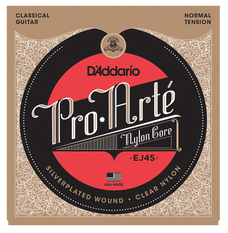 D'Addario EJ45 Pro-Arte Nylon Normal Tension Classical Strings - Available at Lark Guitars