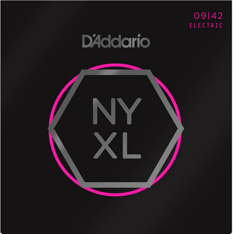 D'Addario NYXL0942 Nickel Wound Super Light Electric Strings 9-42 - Available at Lark Guitars