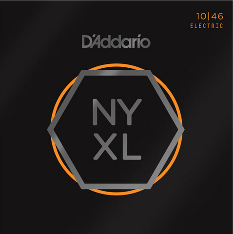 D'Addario NYXL1046 Nickel Wound Regular Light Electric Strings 10-46 - Available at Lark Guitars