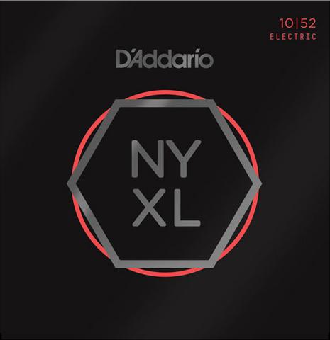 D'Addario NYXL1052 Nickel Wound Light Top/Heavy Bottom Electric Strings 10-52 - Available at Lark Guitars