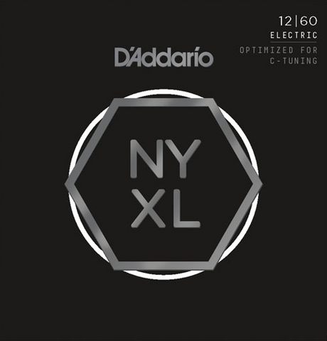 D'Addario NYXL1260 Nickel Wound Heavy Electric Strings 12-60 - Available at Lark Guitars