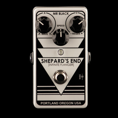 Mr. Black Shepard's End Infinite Flanger - Barber-Pole Through-Zero Flanger, Mr. Black - Lark Guitars