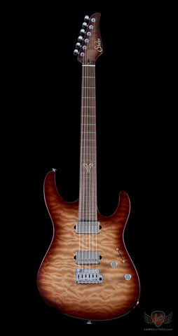 Suhr 2014 Collection Reloaded Modern Quilt Maple - Brown Burst (210)