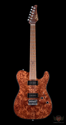 Suhr 2014 Collection Reloaded Classic T Burl Redwood - Natural (213)