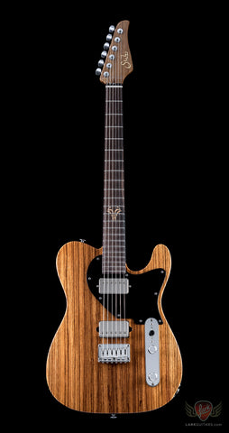 Suhr 2014 Collection Reloaded Classic T Zebrawood - Natural (867)