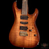 Suhr 2015 Collection Standard Carve Top Curly Koa - Natural Burst (144)